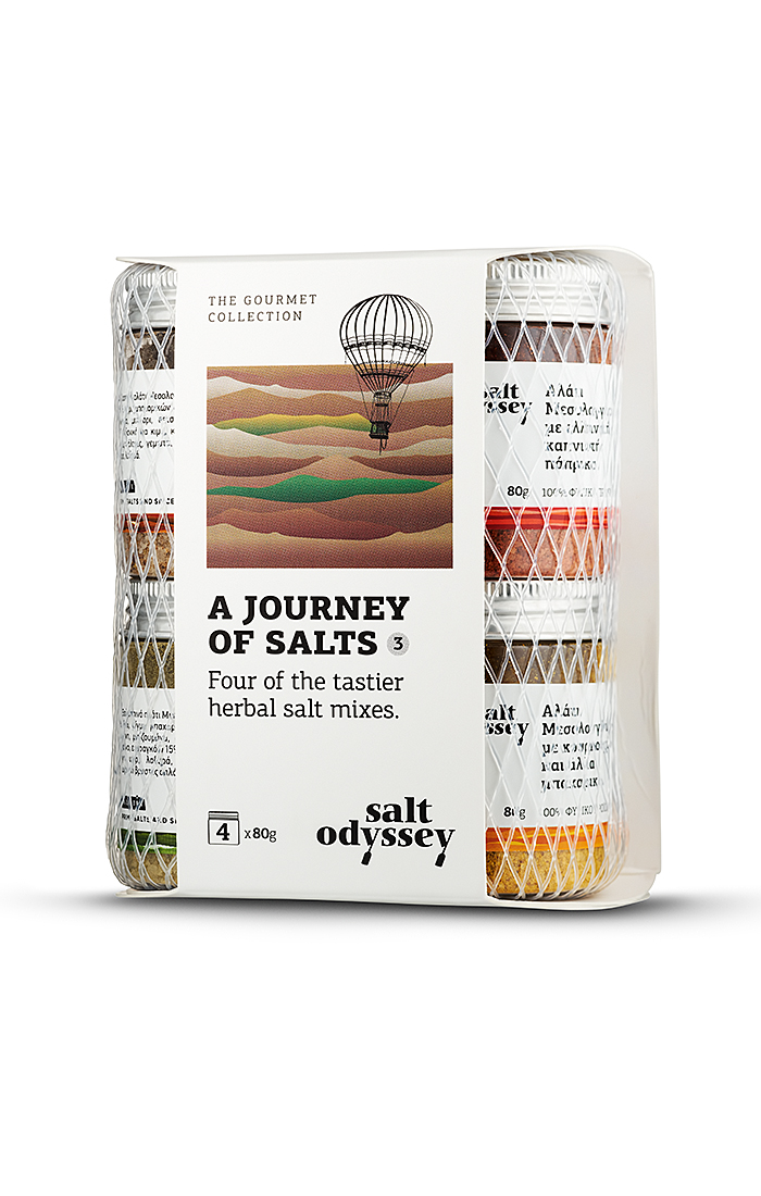 The journey of salts 4x80gr